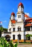 Una vecchia costruzione ha chiamato il ` di ` LAWANG SEWU a Samarang, Java centrale fotografie stock