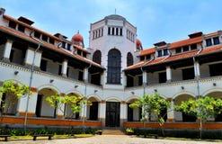 Una vecchia costruzione ha chiamato il ` di ` LAWANG SEWU, situato a Samarang, Java centrale fotografia stock