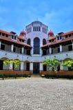 Una vecchia costruzione ha chiamato il ` di ` LAWANG SEWU, situato a Samarang, Java centrale immagine stock libera da diritti