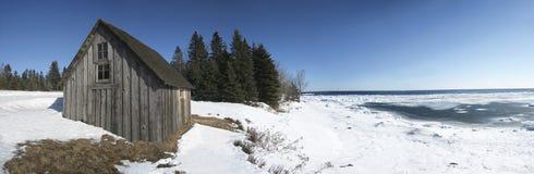 La riva del nord Fotografia Stock Libera da Diritti