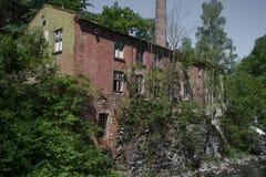 Una vecchia fabbrica immagini stock