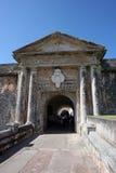 Una vecchia fortificazione Immagine Stock
