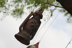 Una vecchia lampada fotografie stock