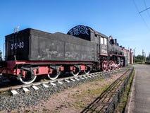 Una vecchia locomotiva Fotografia Stock