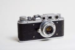 Una vecchia macchina fotografica Fotografie Stock