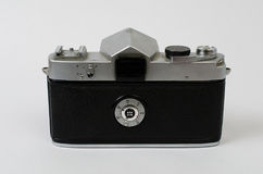 Una vecchia parte posteriore della macchina fotografica Fotografie Stock