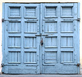 Una vecchia porta Fotografie Stock