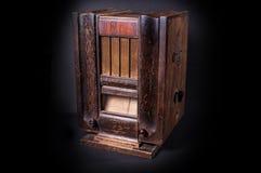 Una vecchia radio. Fotografia Stock