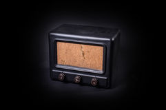 Una vecchia radio Immagini Stock