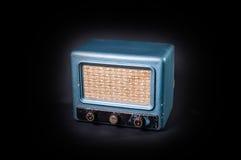 Una vecchia radio Fotografia Stock