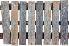 Una vecchia rete fissa di legno. Immagine Stock