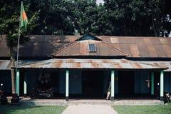 Una vecchia scuola tradizionale nel Bangladesh Fotografie Stock