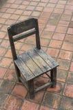 Una vecchia sedia di legno Fotografia Stock Libera da Diritti