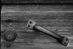 Una vecchia serratura immagine stock