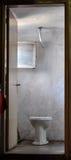 Una vecchia toilette Fotografie Stock Libere da Diritti