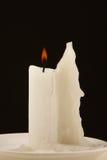Una vela del burnig Fotografía de archivo