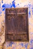 Una ventana cerrada vieja Imagen de archivo libre de regalías