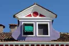 Una ventana divertida Fotos de archivo