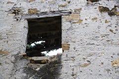 Una ventana vieja fotografía de archivo