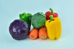 una verdura di 5 colori Fotografia Stock Libera da Diritti