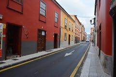Una via in La Orotova fotografie stock libere da diritti