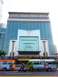 Una via Taipei Taiwan di 101 torre Fotografie Stock Libere da Diritti
