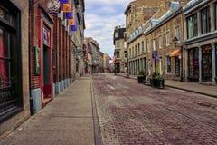 Una via in vecchia città Immagine Stock Libera da Diritti