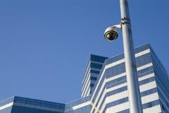 Una videocamera di sicurezza Fotografia Stock Libera da Diritti
