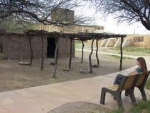 Una vieja misión, parque histórico nacional de Tumacacori Fotografía de archivo libre de regalías