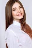 Una vieja muchacha hermosa de 13 años Imagenes de archivo