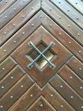 Una vieja puerta principal en el  a de LevoÄ Foto de archivo