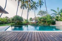 Una villa Bali di cinque stelle Fotografia Stock