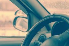 Una visión dentro del coche Foto de archivo