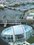 Una visión desde el top - ciudad de Londres Imágenes de archivo libres de regalías