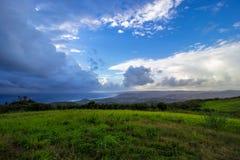 Una visión desde la plantación de Morgan Lewis en St Andrew, Barbados fotos de archivo