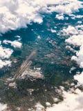 Una visión desde los cielos imagen de archivo libre de regalías