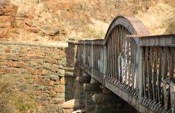 Una visión desde un puente Foto de archivo libre de regalías