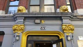 Una visión desde Washington Heights de Nueva York Fotografía de archivo libre de regalías