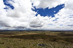Alto de Plano en Bolivia - Suramérica Imagenes de archivo
