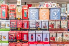 Una visión en el mercado del camino de Portobello imágenes de archivo libres de regalías