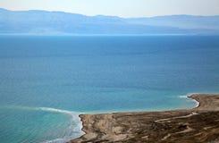 Orilla de mar muerta Imagen de archivo libre de regalías