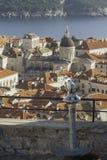 Una visión sobre Dubrovnik Imágenes de archivo libres de regalías