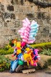 Una visión típica en Cartagena Colombia imagen de archivo libre de regalías