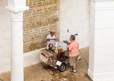 Una visión típica en ciudad de Panamá en Panamá imágenes de archivo libres de regalías
