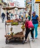 Una visión típica en La Habana en Cuba fotos de archivo libres de regalías
