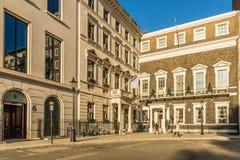 Una visión típica en Londres foto de archivo