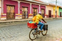 Una visión típica en Nicaragua imágenes de archivo libres de regalías
