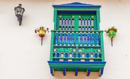 Una visión típica en Santa Ana en El Salvador foto de archivo libre de regalías