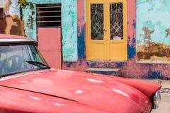 Una visión típica en Trinidad en Cuba foto de archivo