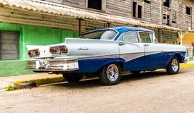 Una visión típica en Varadero en Cuba fotos de archivo